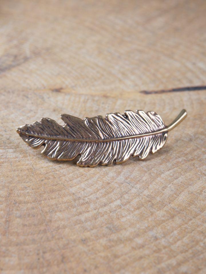 Fibule plume en Bronze