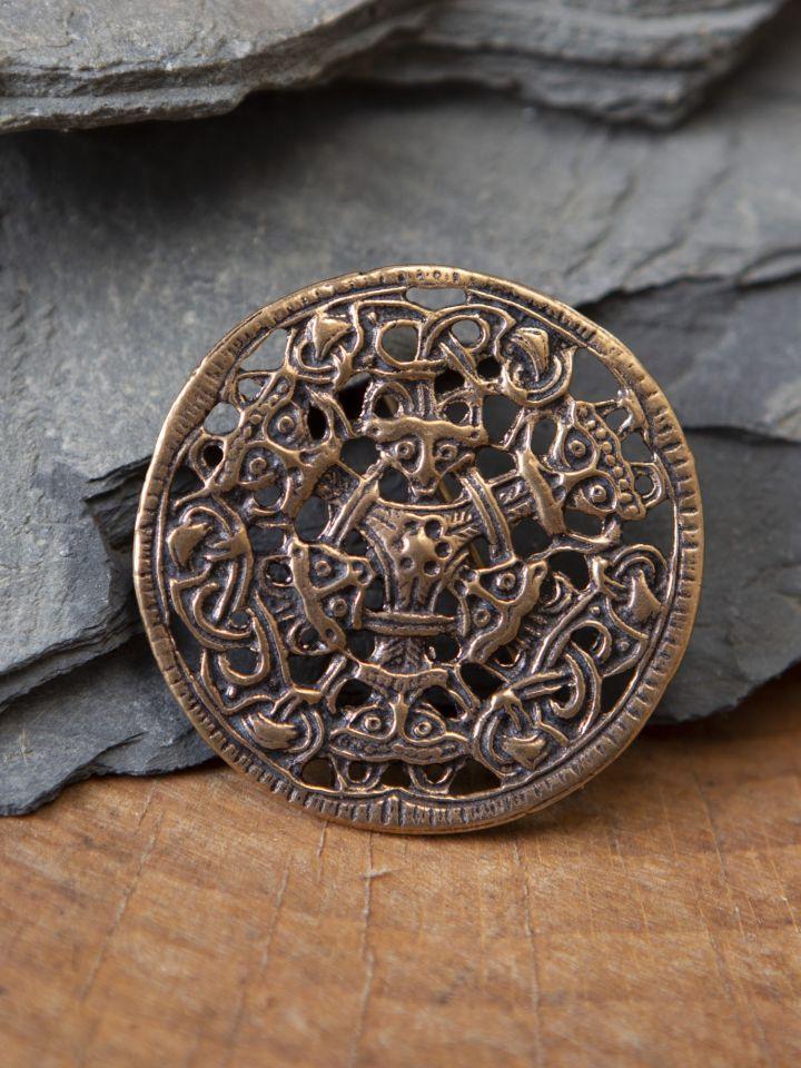 Broche viking de style Borre