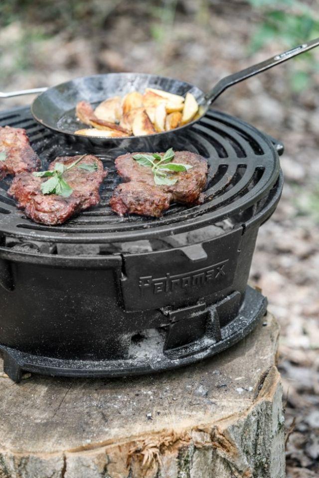 Barbecue en fonte tg3