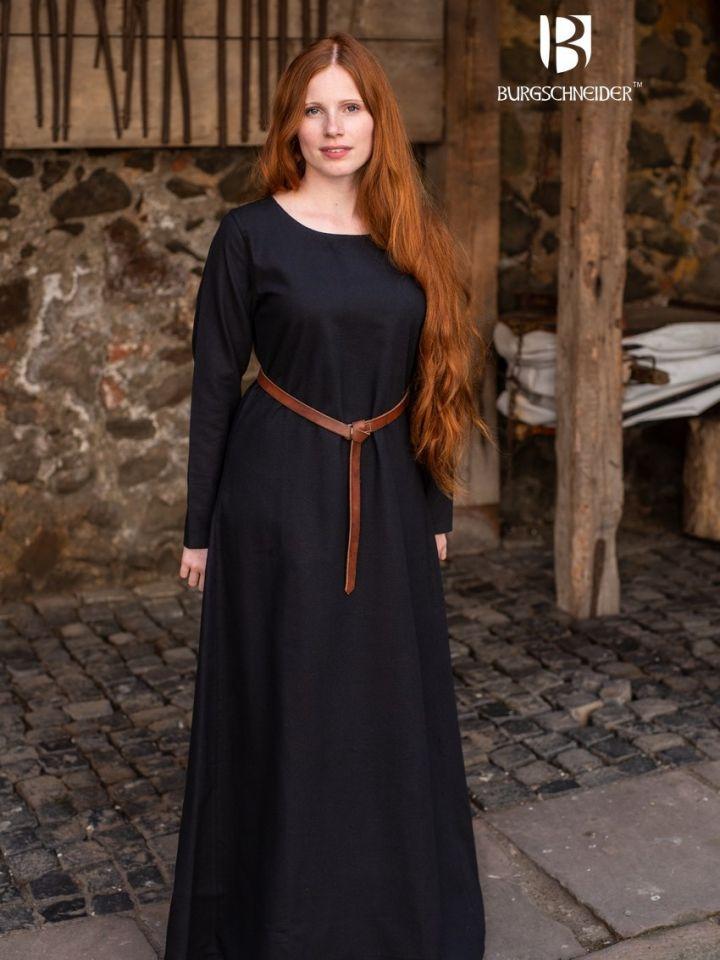 Surcot Freya en noir