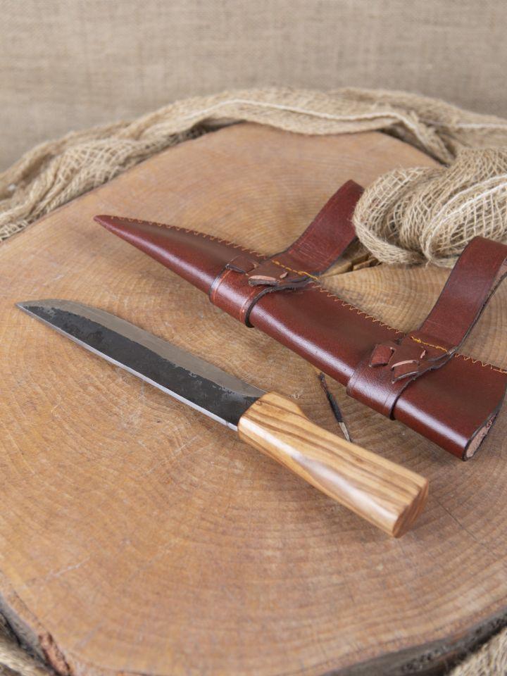 Couteau saxe avec fourreau