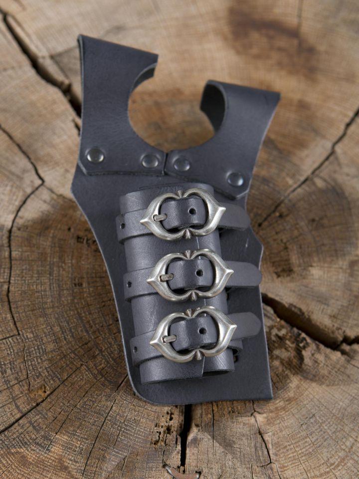 Porte-épées 3 boucles, en noir