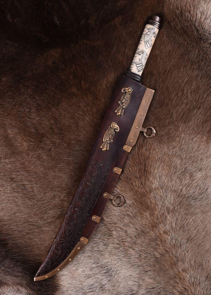 Long Sax Viking avec manche en os