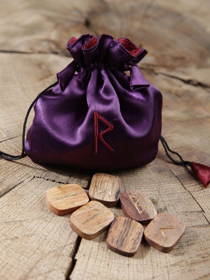 Runes en bois - 25 pièces