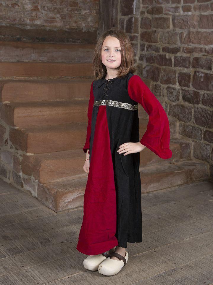 Robe de princesse en velours