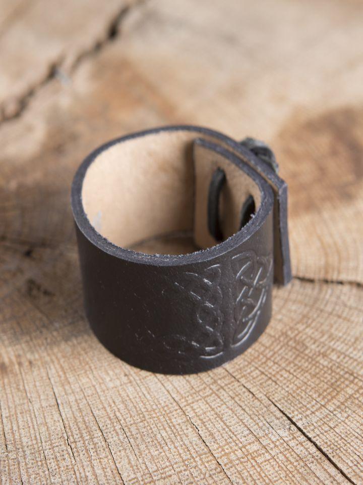 Bracelet motifs Celtiques, en noir