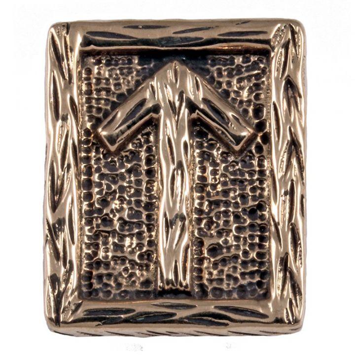 Rune TIWAZ en Bronze