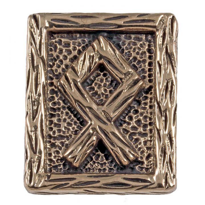 Rune OTHALA en Bronze