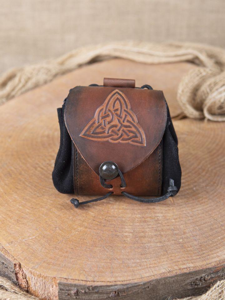Pochette de ceinture noeud celtique antique
