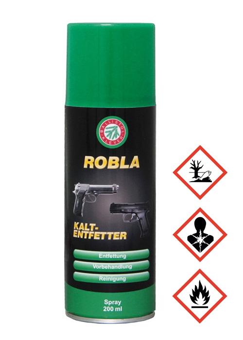 Dégraissant à froid Ballistol Robla, spray, 200 ml