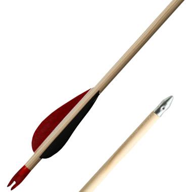 Flèches en bois 28 pouces