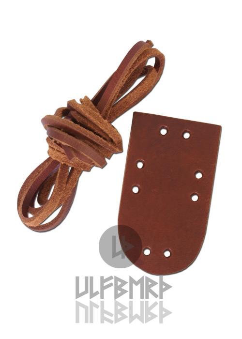 Extension pour armure à plaques de cuir