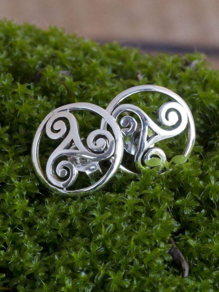 Boucles d'oreille Triskele