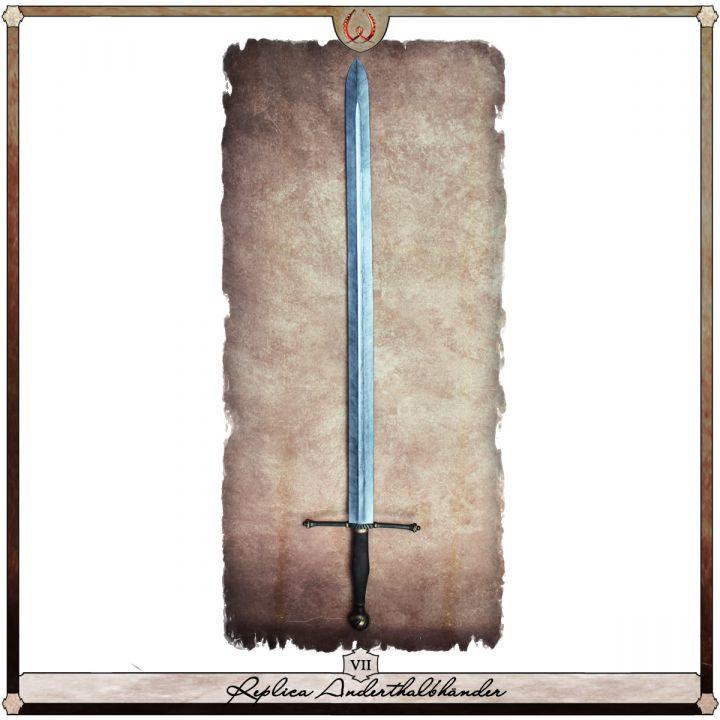 Réplique d'une épée à une main et demi, type VII