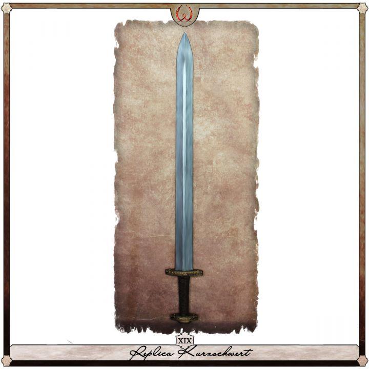 Réplique d'une épée courte - Type XIX