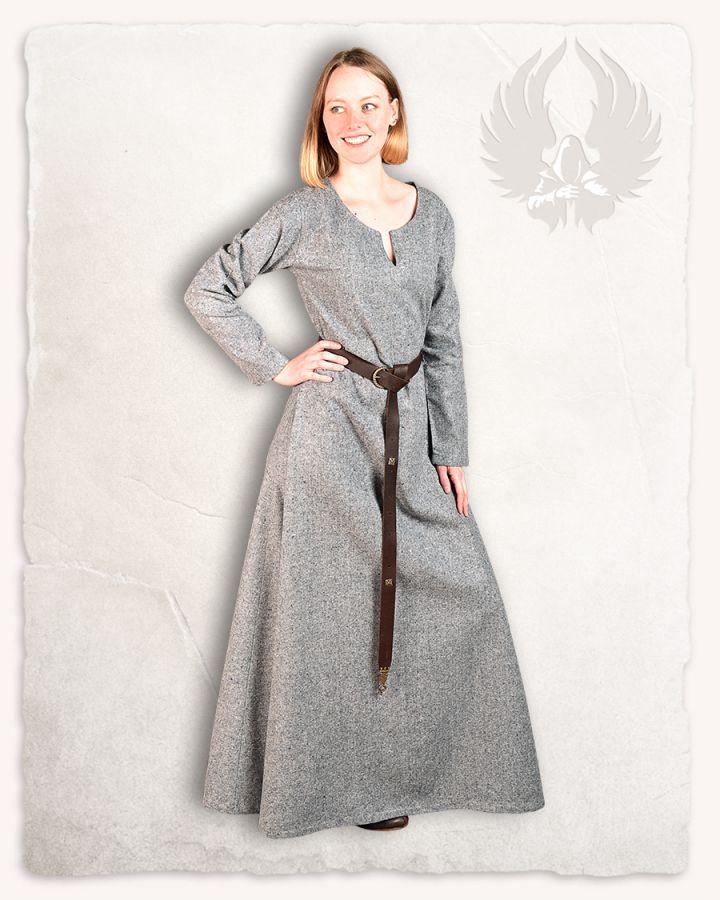 Robe Wilma, en gris clair