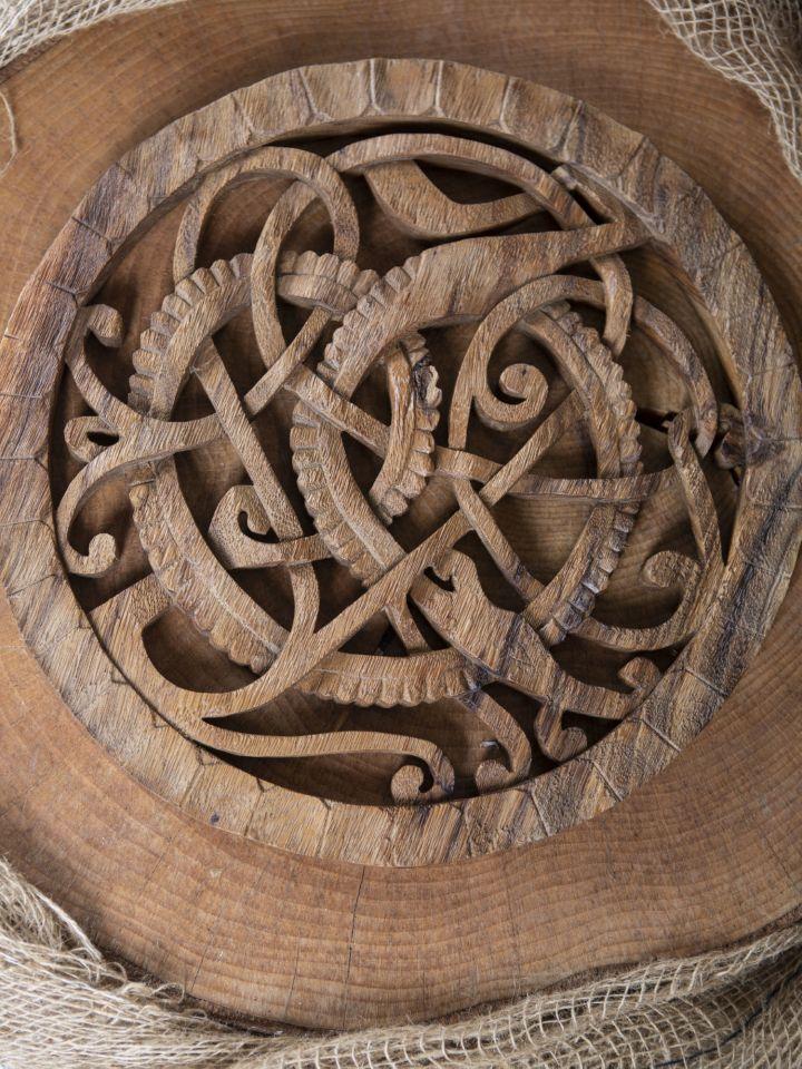 Décoration murale serpent Viking Midgard