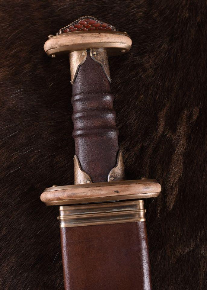 Épée Sutton Hoo, 7e siècle 2
