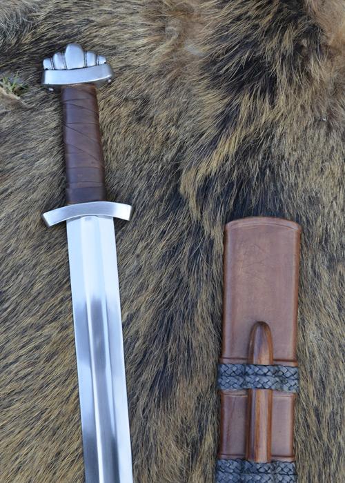 Epée Viking de combat, avec fourreau 2