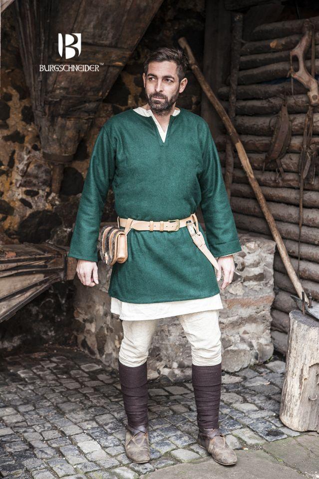 Tunique en laine Lodin en vert 2
