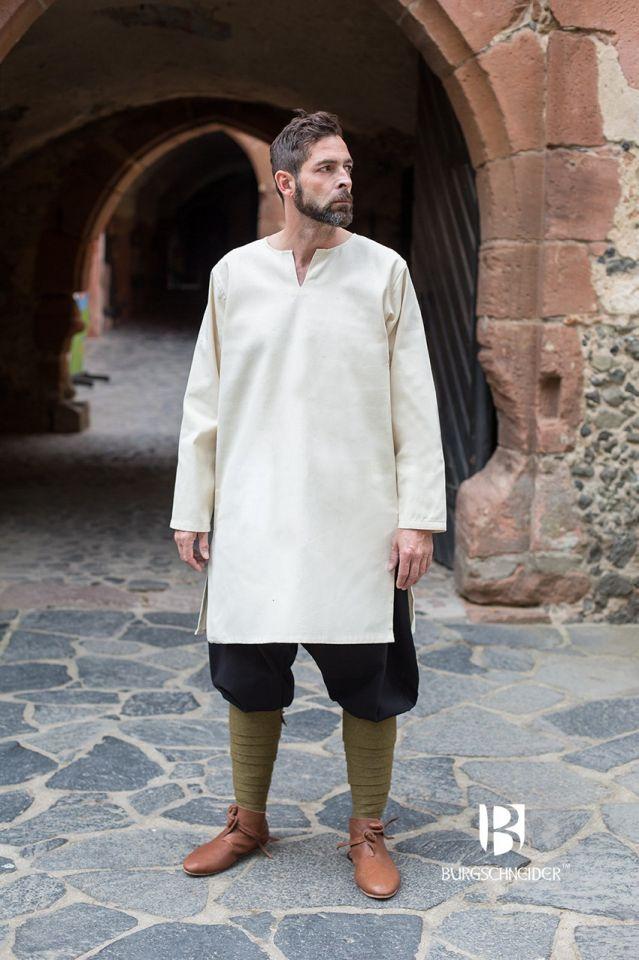 Tunique en coton peigné, blanc-écru XL 2