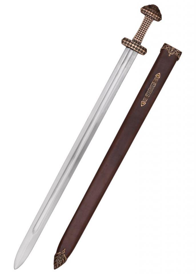 Epée Viking, poignée en bronze 2