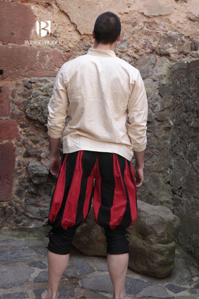 Culotte Lansquenet maximilien en rouge et noir 2