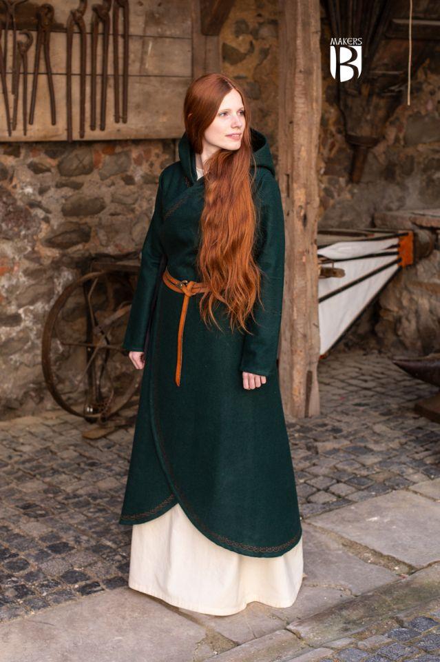 Manteau Enya en vert 2