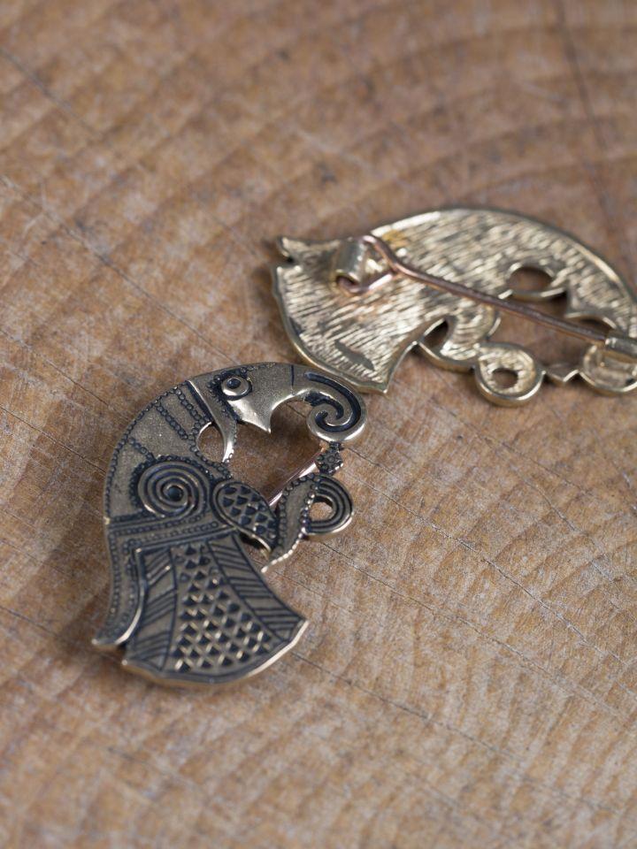 Fibule Raven en bronze 2
