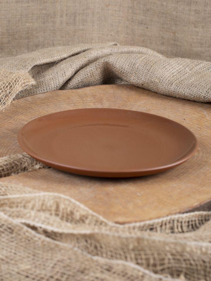 Assiette plate en argile émaillée 26 cm 2