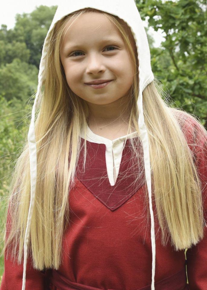 Robe Viking pour enfant, rouge/lie de vin 2