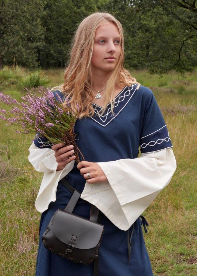 Robe Agatha bleue 2