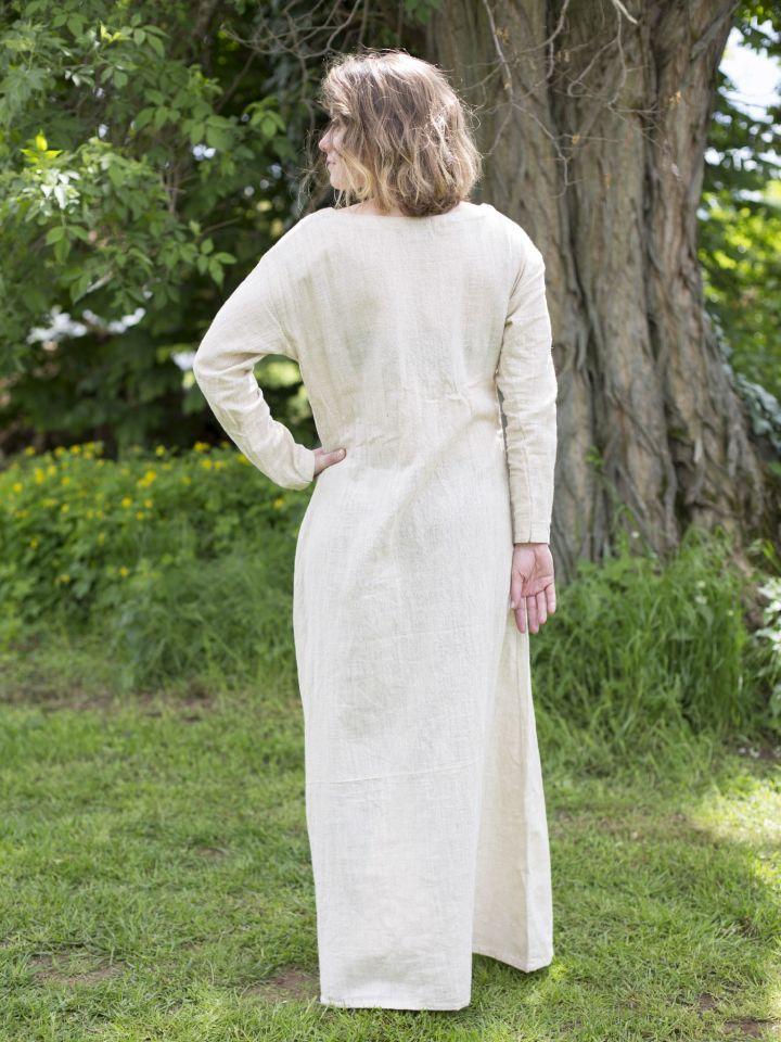 Robe chemise en lin 2