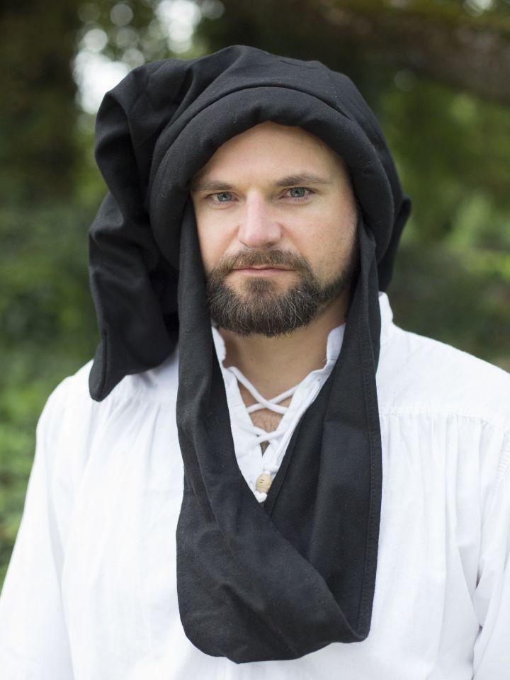 Chapeau sac en laine, noir 2