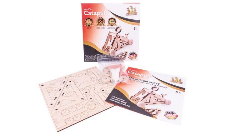 Catapulte jouet en kit 2