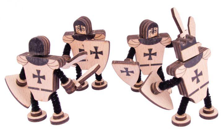 Figurines en bois 2