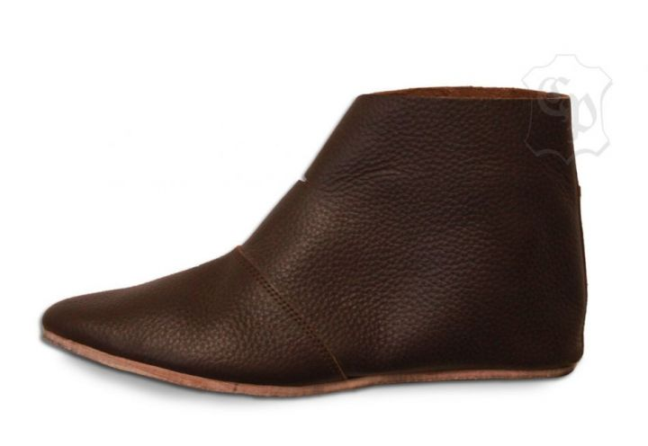 "Bottines ""Knut"" marron 44 2"