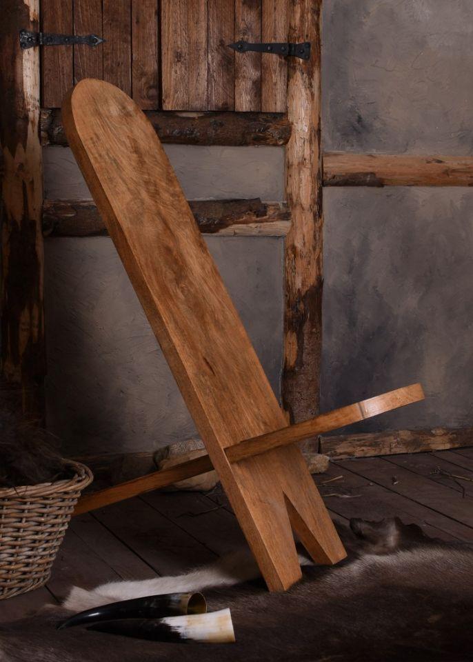 Chaise haute en manguier 2