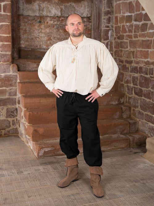 Pantalon médiéval en laine 2