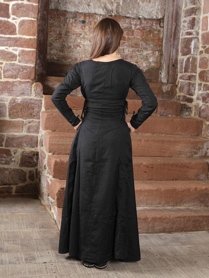 Robe médiévale à laçage sur les côtés 2