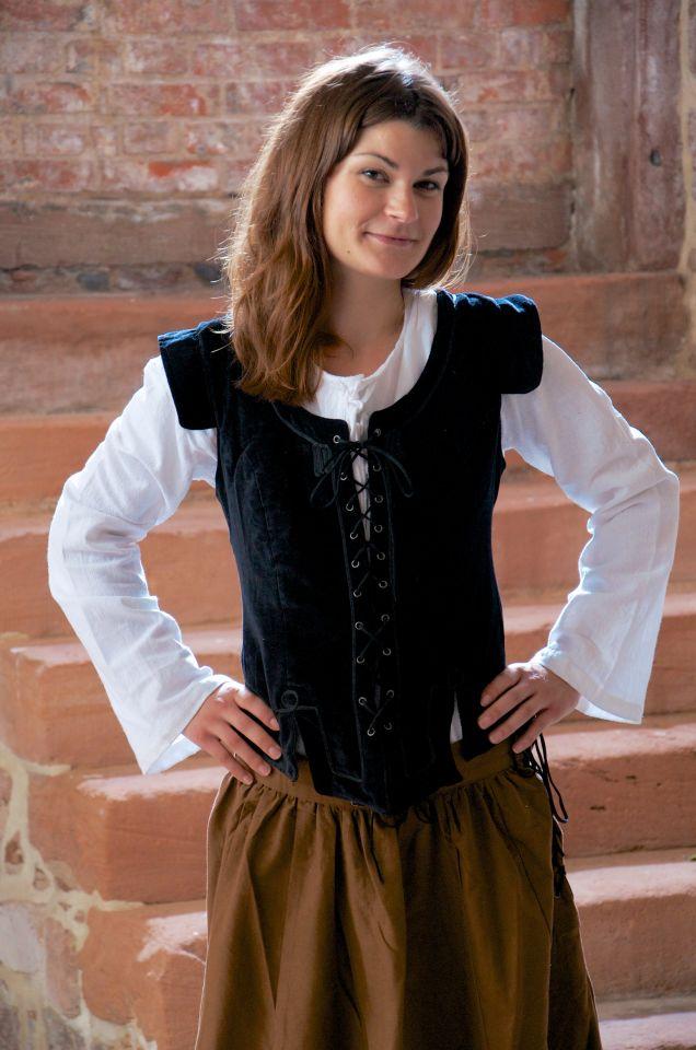 Ensemble jupe, blouse et corset 2