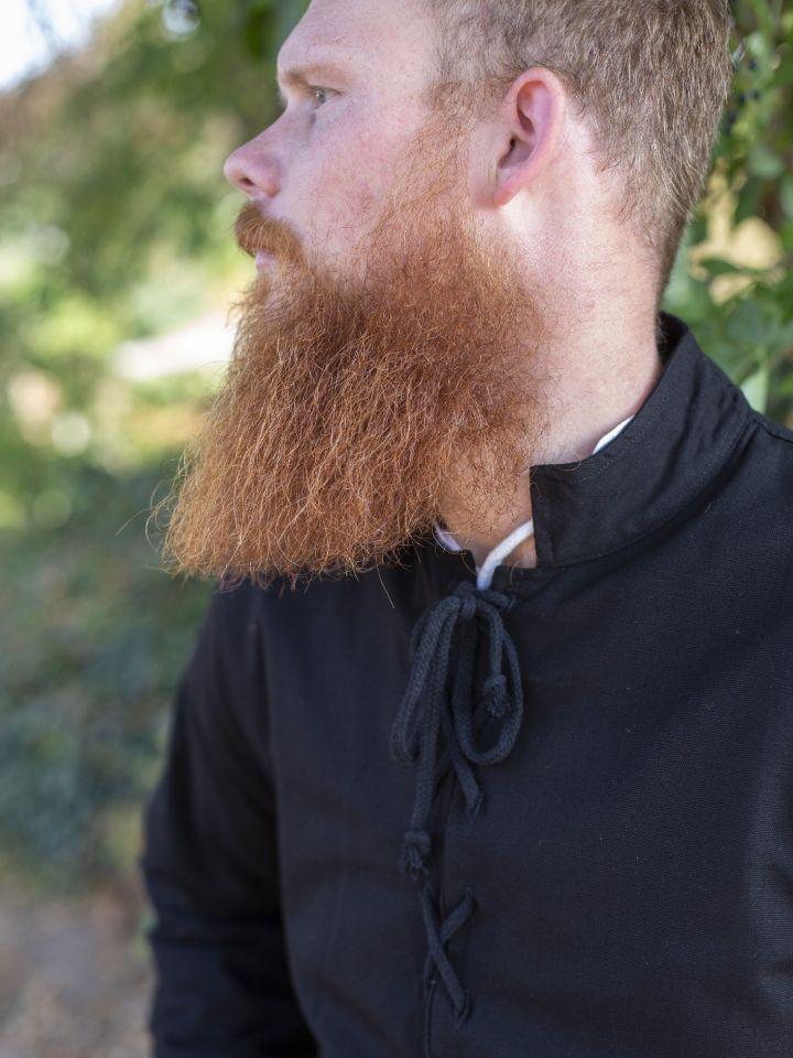 Pourpoint en coton noir 2