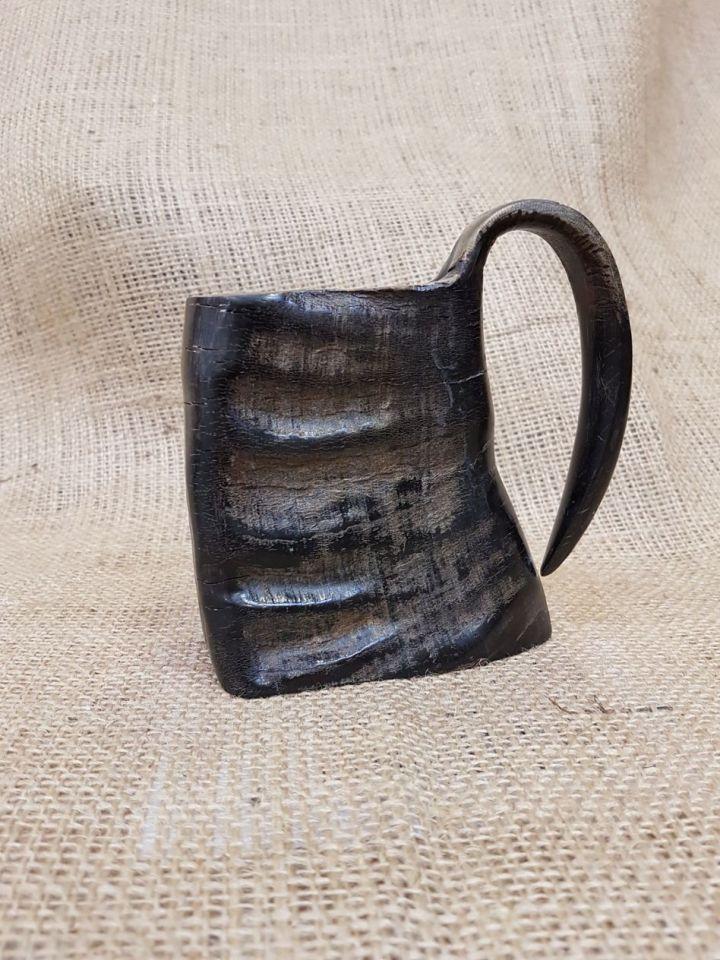 Mug en corne de buffle, 10 cm 2