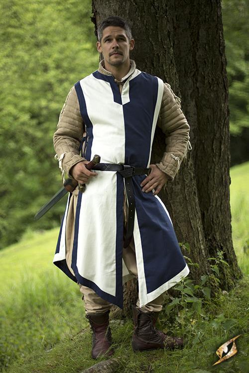 Tabard bleu/blanc 2