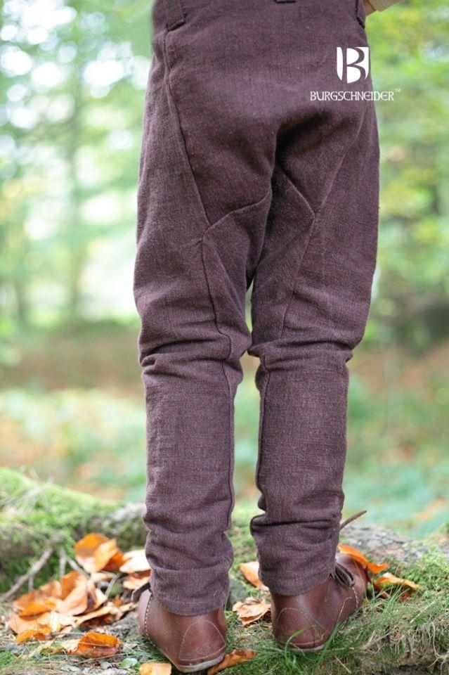 Pantalon pour enfant Ragnarsson, marron 152 2