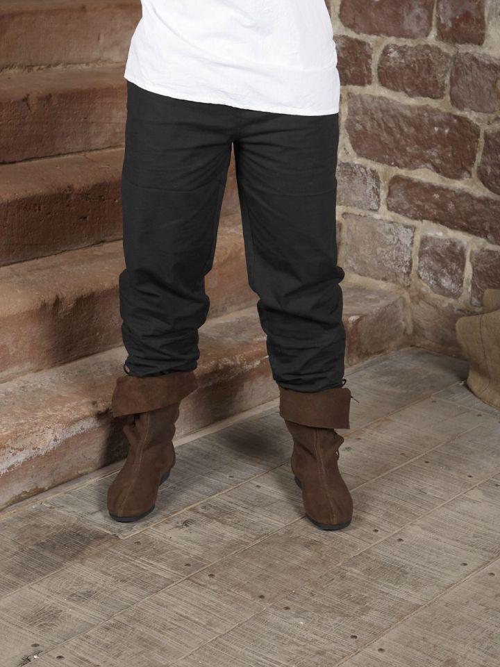 Pantalon médiéval noir 4XL 2