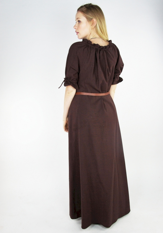 Robe Brida marron 2