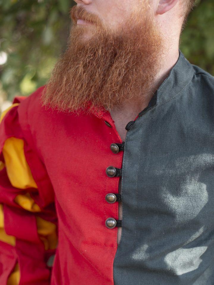 Pourpoint Lansquenet rouge et vert 2