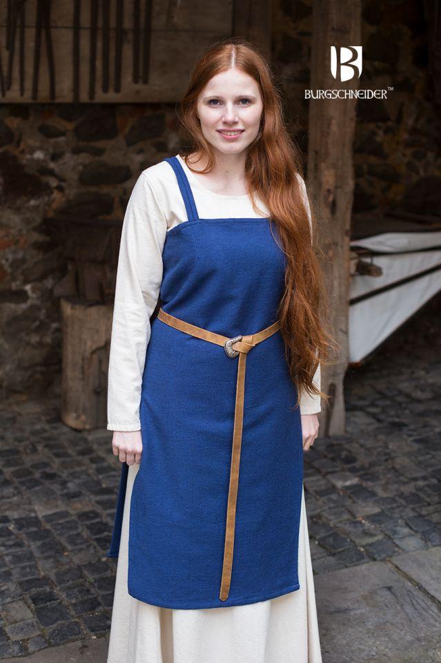 Robe Viking Frida en bleu marine 2