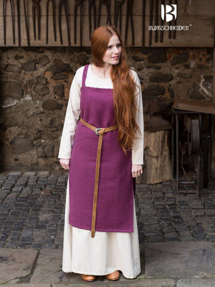 Robe Viking Frida en lilas 2